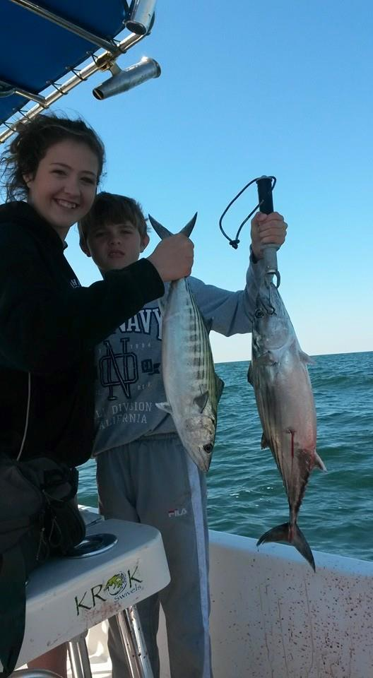 Wrightsville beach fishing charters a fine line charters for Fishing report wrightsville beach nc